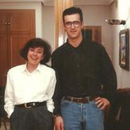 Con Ángeles Sanz