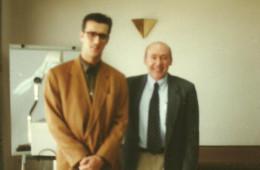 Con Enrique Echeburúa