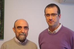 Con J. A. García Higuera