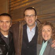 Con J. Sevillá y C. Pastor