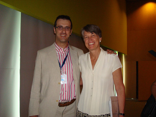Miguel Ángel Jiménez Ortiz con Christine A. Padesky