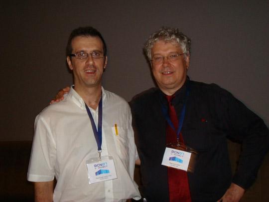 Miguel Ángel Jiménez Ortiz con Paul Salkovskis